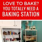 A Kitchen Baking Station is a Must if You LOVE to Bake!