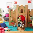 Kinderspiele und Bastelideen für drinnen - lustige Freizeitbeschäftigungen