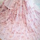 Dusty rose couture 3d flower girl dress   Etsy