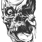 Gruesome Faces – Horror Coloring Book For Adults
