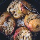 Bratapfel mit Streusel - Teigliebe