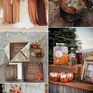 10 Gorgeous Color Combos to Consider for Your Fall Weddings-Part 1 - Elegantweddinginvites.com Blog