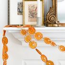 Holiday Garland, Dried Fruit and Spice Garland, Apple and Cinnamon Garland, Orange and Spice Garland