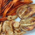 Verduras asadas con pollo o heura - Tasty details