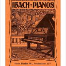 10 inch Photo. Ibach pianos - early 20th century advertisement