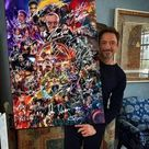 Avenger Marvel Superheroes Stan Lee Cast Signed Poster And Canvas