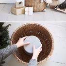 55+ rustikales Bauernhaus inspiriert DIY Weihnachtsdekoration Ideen – für kreative Saft