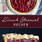 Kirsch-Streusel-Kuchen - Madame Cuisine