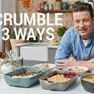 How to make fruit crumble video   Jamie Oliver