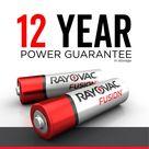 Rayovac Fusion Alkaline AA Batteries   815 16LTFUSJ