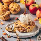 Mini Apple Pies | Vegane Apfel Muffins