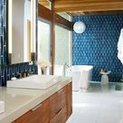 15 elegante Ideen für Badezimmer Fliesen