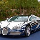 "Bugatti ""White Gold"" Supercar worth £1.6m Made of Porcelain"