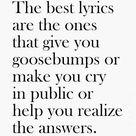Best Song Lyrics