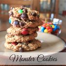 Monster Cookie Recipes