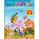 50 Animals Coloring Book Toddlers, Kindergarten and Preschool Age: Funny Animals For Kids Ages 4-9, Easy Coloring Pages For Preschool and Kindergarten (Paperback)