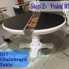 Chalkboard Table