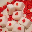 diy heart sugar cubes / Mami