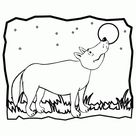 Wolf Coloring Page | Woo! Jr. Kids Activities