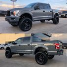 2019 Ford F150 equipped with a Fabtech 6