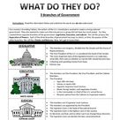 Three Branches of Government English and Spanish