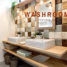 アイデザインホームのおしゃれな造作洗面