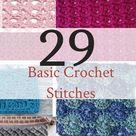 20+ Basic Crochet Stitches