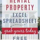 Free Rental Property Excel Spreadsheet & Calculator