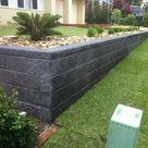Retaining Walls   Sleepers, Link Blocks   Landscapers North Brisbane