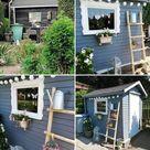 Gartenhaus gestalten: So nutzt du den Platz effektiv!