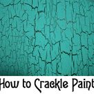 Crackle Painting