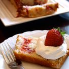 Strawberry Pound Cakes