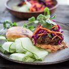 Thai Turkey Burger Recipe   Feasting At Home