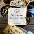 Das einfachste Olivenbrot der Welt — get hungry!