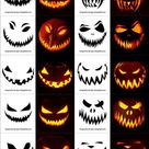 420+ Free Printable Halloween Pumpkin Carving Stencils, Patterns, Designs, Faces & Ideas