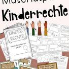 Kinderrechte Material Grundschule - Materialpaket mit Forscherheft, Stationen & Bildkarten