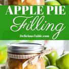 The BEST Apple Pie Filling!