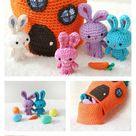 Adorable Free Crochet Rabbit Pattern