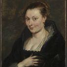 Peter Paul Rubens, 1625 - Portrait of Isabella Brant - fine art print - Canvas print / 100x120cm - 39x47