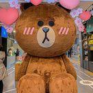 Brown Doll, Line store flagship gangnam, Seoul, South Korea Landscape