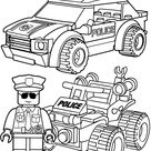 Lego Police Coloring