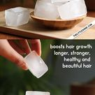 RICE WATER HAIR CUBES RINSE for beautiful hair - The Little Shine
