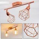 Retro Flur 2-Strahler Deckenlampe Wohnzimmer Schlafzimmer Lampe Kupfer, # 2 # Decke ...,  #2S...