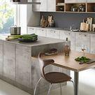 Moderne Küche in Betonoptik / Modern kitchen with concrete look