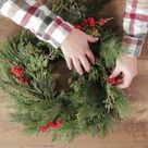 Deck the Halls With a Real Evergreen Wreath This Year