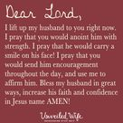 Prayer For Husband