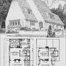 1920s English Cottage - Small Homes - Books of a Thousand Homes - John Floyd Yewell