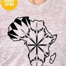 Africa Map Mandala Halloween Edition SVG Digital Image Sell Download File