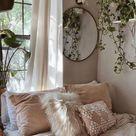 Bedroom Inspiration   Room   Cozy   Comfy   White and Clean   Decoração de Quarto