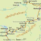 Lahn-Radweg - Radreise Radtour Radurlaub Marburg Koblenz Taunus